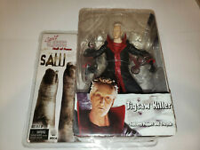 SAW JIGSAW KILLER + Puppet & Tricycle Figure NECA Cult Classics New/Sealed