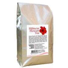 Hibiscus Flowers Tea 800g Dried Fine Cut Loose Leaf Herbal Tea