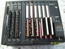 GE FANUC SERIES SIX, PROGRAMMABLE CONTROLLER IC600YR560L RACK CARDS POWER SUPPLY