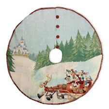 *NEW* Disney Parks Christmas 2020 Mickey And Friends Tapestry Tree Skirt NWT