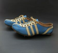 RARE Vintage 1960s ADIDAS Leather Track Spikes Running Shoes VGC