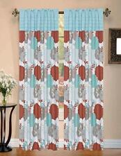 RT Designers Collection Sarasota Rod Pocket Window Curtain Panel, 55 by 84-Inch