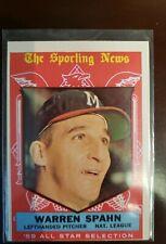 Warren Spahn 1959 Topps All-Star #571 Milwaukee Braves