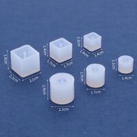 Ohrring Harz Formen Stud Ohrring Schmuck Epoxy Silikon Formen für DIY Schmuck
