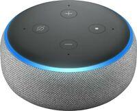 NEW Amazon Echo Dot 3rd Generation Smart Speaker with Alexa - Heather Gray