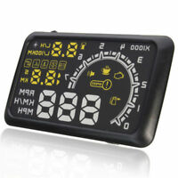 5.5in Universal HUD Head Up Display OBD II Projector Digital Light Speed Warning