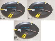 Ciotola rotonda grande a disco in PLASTICA costruttori Vassoio Di Miscelazione Cemento Sabbia Intonaco Incollare Set