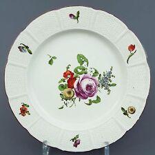 Ludwigsburg barocca Piatto, Legno fiori recisi, altosier, D = 23,5cm, 1762-1793
