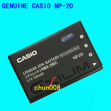 Genuine Original CASIO NP-20 Battery For exilim EX-S500 S770 S880 Z65 Z75 BC-11L