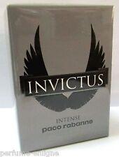 Paco Rabanne INVICTUS INTENSE 3.4oz 100ml Men EDT 100%Original & Sealed *NEW*