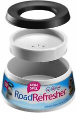 Road Refresher Non Spill Water Bowl Grey Small Dog Cat Bowls BN