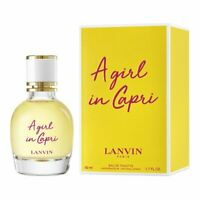 2019 LANVIN A Girl In Capri  eau de toilette edt 50 ml 1.7 oz new in box sealed