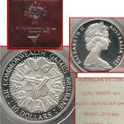 1982 Australia Mint 1st Silver $10 Brisbane Commonwealth Games COIN Issue + Case