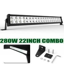 "22"" inch 280W LED Work Light Bar Combo Spot Flood Driving Off Road SUV Boat ATV"