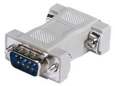 DB9 M / HDD15 F VGA Adaptor Male To Female Converter Adapter Mold CGA/EGA to VGA