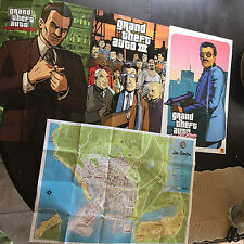 Rockstar Games Promo Poster Set Rare Grand Theft Auto GTA Liberty City Stories +
