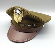WWII Chinese Military KMT Air Force Cap Hat  XL