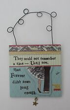 t FOREVER engagement true devotion wedding CURLY GIRL PLAQUE hanging sign