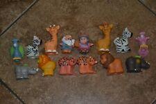 Fisher Price Little People Noah Wife & Ark Animals Lot Biblical Figures Set GUC