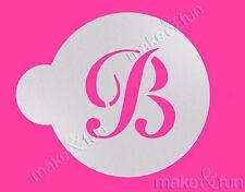 Custom Letter Stencil, Wedding Cookie Stencil, Cake stencil, Stancil