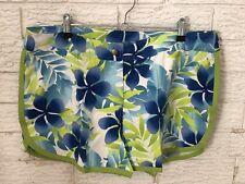 Action Ladies Swim Shorts Hawaiin Floral Size 16