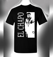 El Chapo T-Shirt Scarface Crossover Original Gangster Tony Montana God Father