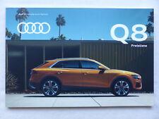 Audi Q8 50 TDI quattro - Preisliste - Prospekt Brochure 07.2018