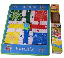 Parchis Ludo Board Game Gift for Preschoolers Beginners Large Floor Games
