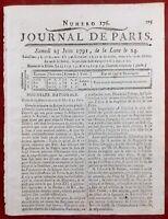Roi Louis 16 Fuite de Varennes 1791 Meaux Marie Antoinette Révolution Française