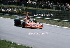 Vittorio BRAMBILLA Mars 741 BRITISH GRAND PRIX 1974 Photo 2