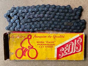 Chaine NOS sedis Chain Velo Ancien Old Bike Eroica Bici Rene Herse  C