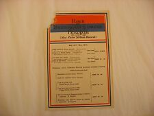 Original Victor Phonograph Record Catalog - Serbian May, 1917