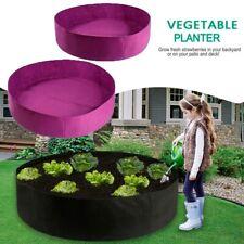 Plant Growing Bag Raised Plants Bed Flower Garden Planter Elevated Vegetable Box
