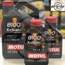 7 Litri Olio Motore MOTUL 8100 X-CLEAN 5W30 EFE C2 C3 SINTETICO GM-OPEL dexos2®