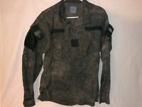 PRE-OWN SPECIAL EDITION ACU JACKET CUSTOM COLOR GREY LARGE REGULAR CAMOUFLAGE