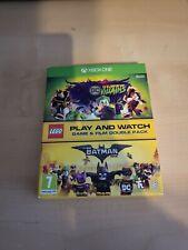 Lego Doppelpack Spiel und Watch Xbox One Spiel DC super Schurken Blu Ray Batman
