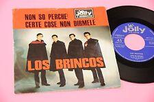 """LOS BRINCOS 7"""" NON SO PERCHE' ORIG ITALY 1965 EX+"""