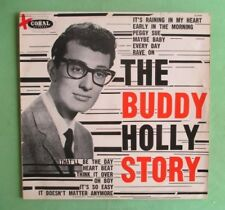 Buddy Holly Lp orig red Coral label pressing Lp CL 7632- The Buddy Holly Story