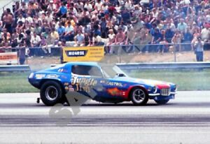 Jungle Jim Liberman Camaro Funny Car Drag Racing 13x19 Poster Photo 110