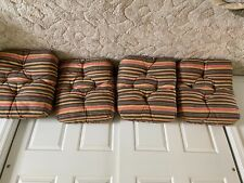 10 piece Outdoor patio furniture replacement cushions in very good condition