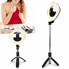 6Inch LED Ring Light Lamp Selfie Camera Phone Studio Stand Photo Video Dimmable