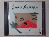 LAURIE ANDERSON Mister heartbreak cd GENESIS FEELIES KING CRIMSON NUOVO UNPLAYED