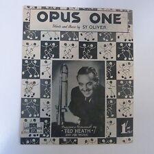 Unanimità Opus One TED Heath, 1945