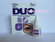 Duo Lash Adhesive Glue for Individual Lashes, Clear  7g