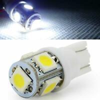 T10 2.5W DC 12V LED Indicator Light Bright Car Interior Lamp Wedge White U2Z4