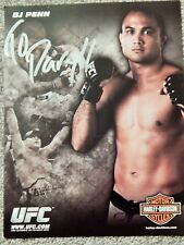 UFC B J PENN 8 1/2 X 11 OFFICIAL PHOTO COLLECTIBLE