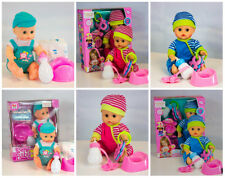 Realistic Talking Baby Doll With Accessories Lifelike Kid's Play Set Boy Girl