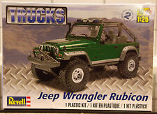 2003 Jeep Wrangler Rubicon, 1:25, Revell 4053