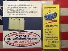 CCMS Johnson Evinrude Drag Outboard Reed 150-250hp E-TEC & G2 ETEC PN166ETD