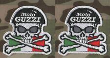 Café Racer Rockeurs 59 Ton-Up-Boy Out-Law Motard Patch Série : Moto Guzzi X 2